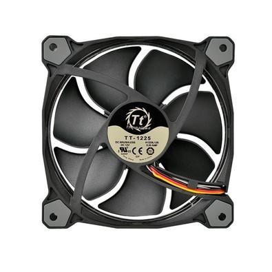 Cooler FAN Thermaltake RIING 12cm Radiator FAN 256 com 3 LED Switch CL-F042-PL12SW-B