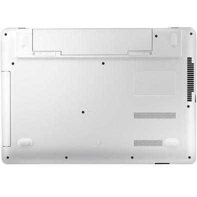 Notebook Samsung 14´ Intel Celeron 3215U Dual Core, 4GB, 500GB, DDR3L,Windows 10 Home Branco e Preto NP370E4K-KWDBR