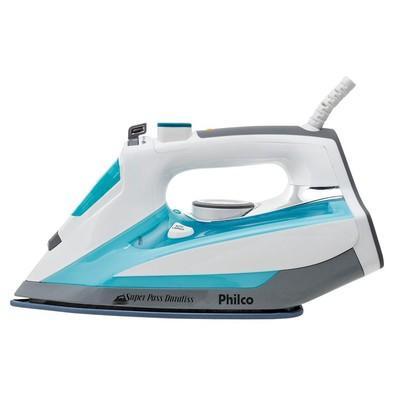 Ferro a Vapor Philco Super Pass Duraliss Azul 053601015 - 110V