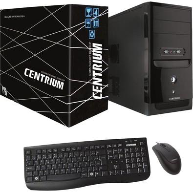 Computador Centrium Thinline Intel Pentium G4400, 4GB DDR4, HD 500GB, Linux - 34266-0