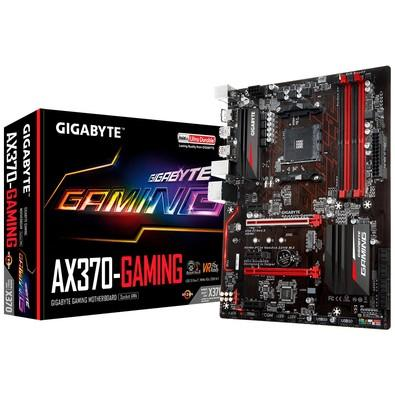 Placa-Mãe Gigabyte GA-AX370-Gaming, AMD AM4, ATX, DDR4