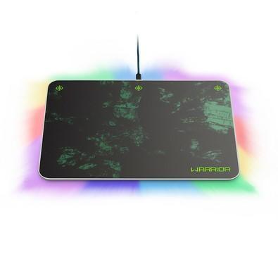 Mousepad Gamer Multilaser Warrior RGB com Bungee - AC299
