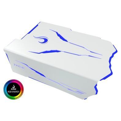 Cover de fonte Rise Mode Dragon Branco - RGB - Controle RGB RM-CF-05-DR