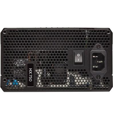 Fonte Corsair 750W 80 Plus Platinum Modular HX750 - CP-9020137-WW