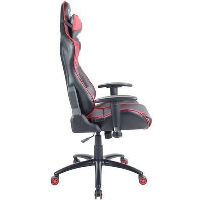 Cadeira Gamer Husky Storm, Black Red - HST-BR