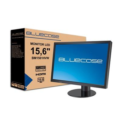 Monitor Bluecase LED 15.6´ Widescreen, Full HD, HDMI/VGA - BM1561CASE/BM1561HVW