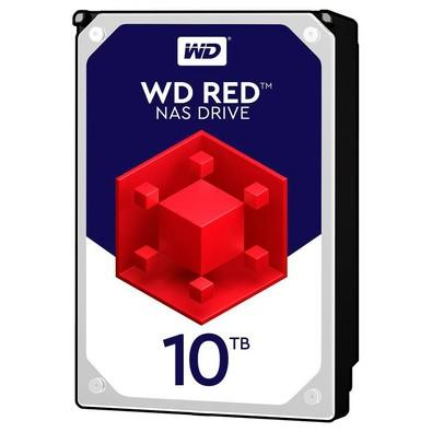 HD WD Red NAS, 10TB, 3.5´, SATA - WD100EFAX