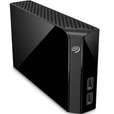 HD Seagate Externo Backup Plus Hub USB 3.0 4TB Preto - STEL4000100