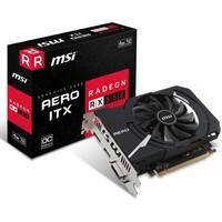 Placa de Vídeo VGA MSI AMD Radeon RX 550 AERO 4GB ITX OC