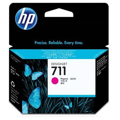 Cartucho de Tinta HP Designjet 711, Magenta - CZ131A