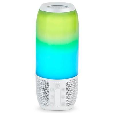 Caixa de Som JBL Pulse 3, Bluetooth, À Prova D´Água, 20W, Branca
