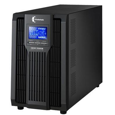 Nobreak Coletek UPS Online 3000VA C/ 6 Baterias UPS-3000PM