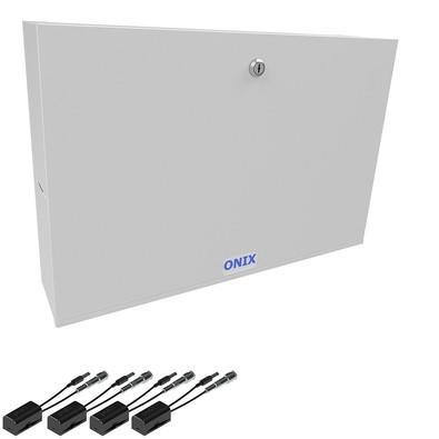 Kit Rack Organizador Onix Security Power Coaxial p/ 4 Câmeras HD 3000 3832