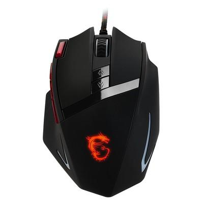 Mouse Gamer MSI 8200DPI RGB Interceptor DS200
