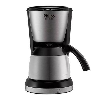 Cafeteira Philco Ph30 Thermo Aço Escovado/Preto 127V