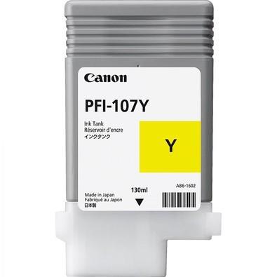 Cartucho de Tinta Canon Amarelo - PFI-107Y