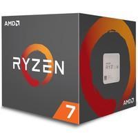 Processador AMD Ryzen 7 2700, Cooler Wraith Spire, Cache 20MB, 3.2GHz (4.1GHz Max Turbo), AM4, Sem Vídeo - YD2700BBAFBOX