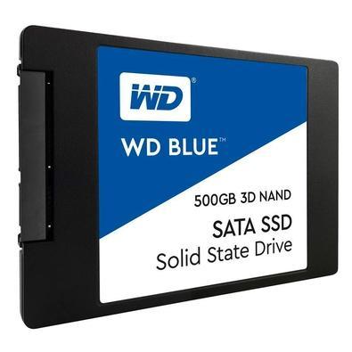 SSD WD Blue, 500GB, SATA, Leitura 560MB/s, Gravação 530MB/s - WDS500G2B0A