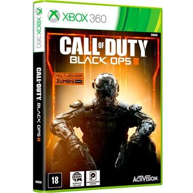 Game Call Of Duty Black Ops III + Multi + Zumbis Xbox 360