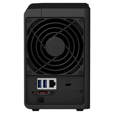 Storage Synology NAS DiskStation Intel Celeron J3355 Dual Core 2GHz 2GB DDR3L - Torre 2 Baias Sem Disco - DS218+