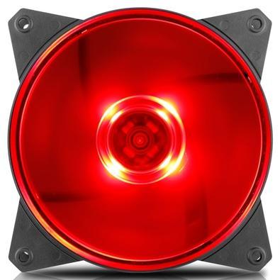 Cooler FAN Cooler Master MasterFan MF120L Vermelho R4-C1DS-12FR-R1