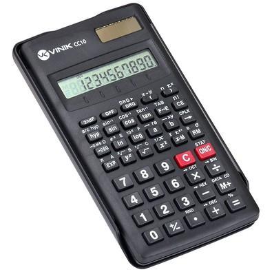 Calculadora Científica Vinik 10 Dígitos 56 Funções CC10 - 26095 Preta