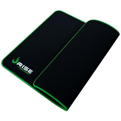 Mousepad Gamer Rise Mode Speed, Grande (420x290mm) Costura Verde - RG-MP-05-ZG
