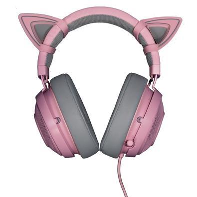 Acessório Razer - Kitty Ears para Razer Kraken - Quartz - RC21-01140300-W3M1