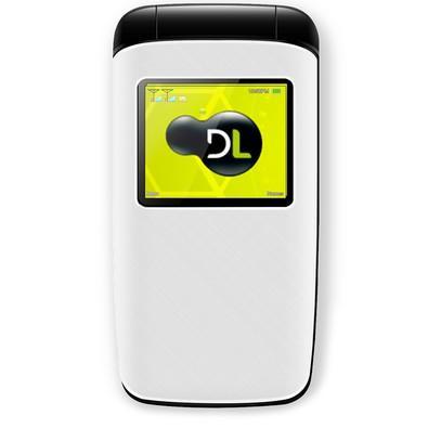Celular DL YC-330 Flip, Tela 1.8´, Radio FM, Câmera, Memória Expansível 32GB, Desbloqueado, Dual Chip - Branco