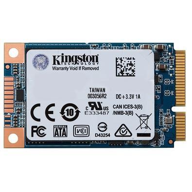 SSD Kingston UV500 mSATA 120GB Leituras: 520MB/s e Gravações: 320MB/s - SUV500MS/120G