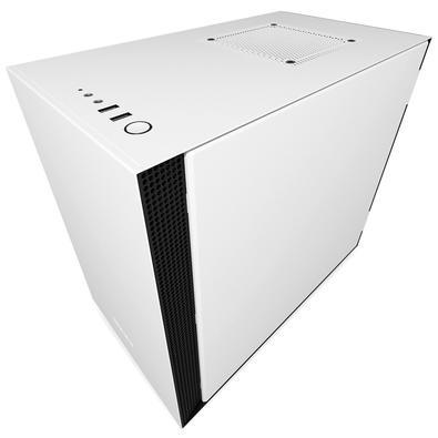 Gabinete NZXT H200, ITX, Branco - CA-H200B-W1