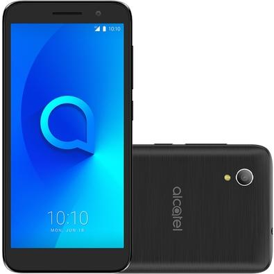 Smartphone Alcatel 1, 8GB, 8MP, Tela 5´, Preto - 5033J