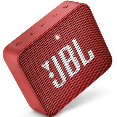 Caixa de Som JBL Go 2, Bluetooth, À Prova D´Água, 3W, Vermelha
