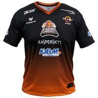 Camiseta Uniforme Oficial KaBuM! e-Sports 2018, Orange Ninja, Dry-Fit, Tamanho G