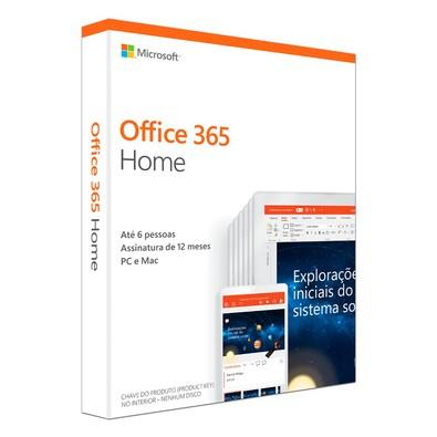 Microsoft Office 365 Home 2019 6 PCs 32/64 Bits 6GQ-00952
