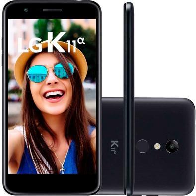 Smartphone LG K11 Alpha, 16GB, 8MP, Tela 5.3´, Preto - LMX410BTW