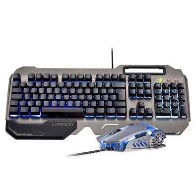 Kit Gamer Warrior - Teclado Semi Mecânico Ragnar, LED + Mouse Keon, LED - TC223