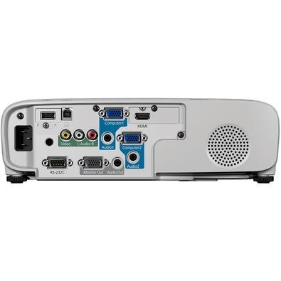 Projetor Epson PowerLite S39 3300 Lumens, SVGA, HDMI, Branco - V11H854020