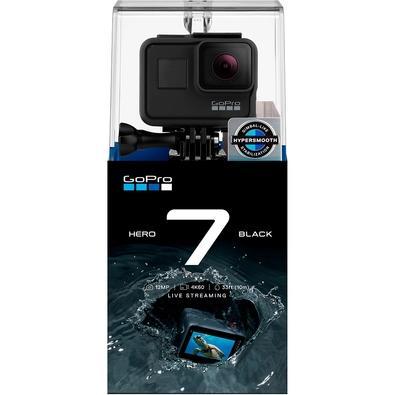 Câmera de Ação GoPro Hero 7, 4K, WiFi/HDMI, Controle por Voz, GPS, Preta - CHDHX-701-LW