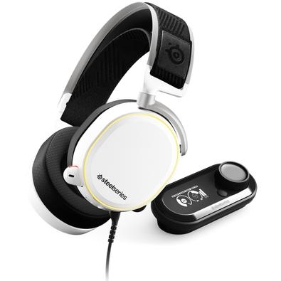 Headset Gamer SteelSeries Arctis Pro + GameDAC, Branco - 61454