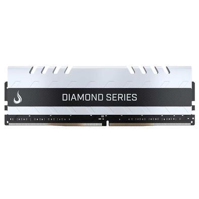 Memória Rise Mode Diamond, 8GB, 3000MHz, DDR4, CL15, Branco - RM-D4-8G-3000DW