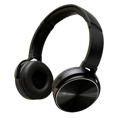 Headset C3 Tech Dobrável, Preto - PH-110BK