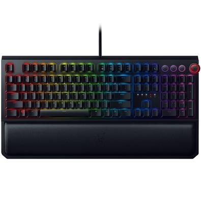 Teclado Mecânico Gamer Razer BlackWidow Elite Chroma, Switch Razer Yellow, US