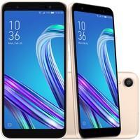 Smartphone Asus Zenfone Live L1 OctaCore, 32GB, 13MP, Tela 5.5´, Gold - ZA550KL-4G130BR