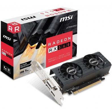 Placa de Vídeo MSI AMD Radeon RX 560 4GT LP OC 4GB, GDDR5