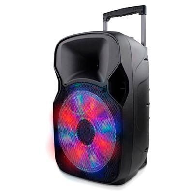 Caixa de Som Amplificadora Multilaser Trolley, Bluetooth, Speaker 12´, 150W - SP219