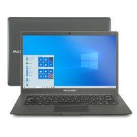 Notebook Multilaser Legacy Cloud 14 Pol. 2GB 32GB W10 Cinza - PC130