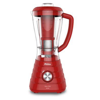 Liquidificador Philco Paris 900 Vermelho 900W 220V