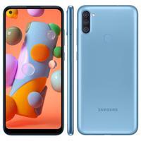 Smartphone Samsung Galaxy A11, 64GB, 13MP, Tela 6.4´, Azul - SM-A115MZBGZTO