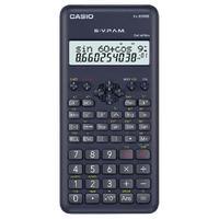 Calculadora Científica 12 Dígitos Ffx-82Ms-2-S4-Dh, 240 Funções Display Grande Preta
